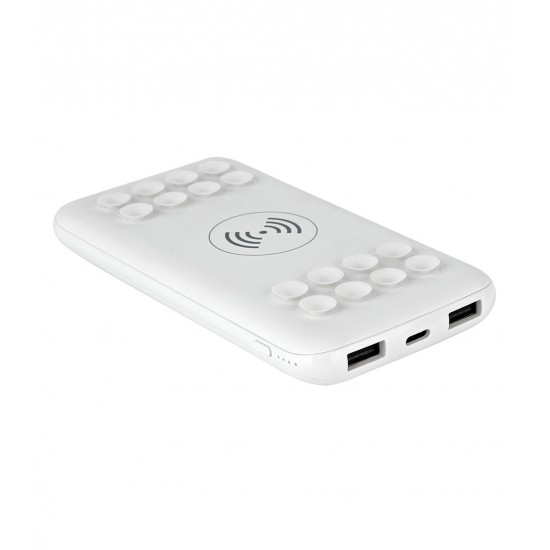 10000 mAh Kablosuz Wireless Led Powerbank  TOPTAN