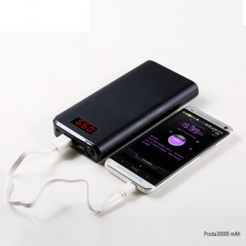 Proda 30000 mAh Power Bank PERAKENDE
