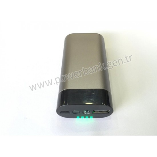 Promosyonluk Metal Kasa 4000 mAh Power bank TOPTAN