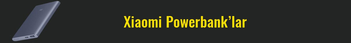 xiaomi powerbank icerik